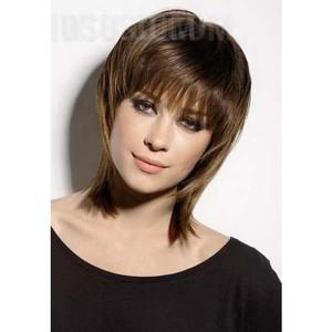 Окрашивание тонких и редких волос по типу лица
