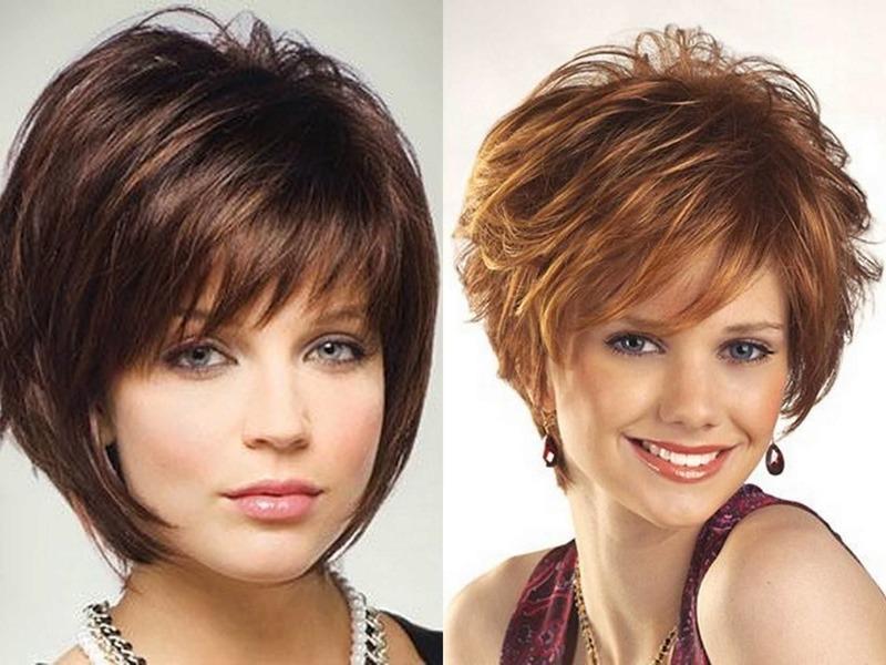 Подбор стрижек для тонких и редких волос к типу лица