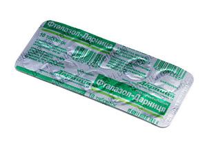 Правила применения препарата фталазол