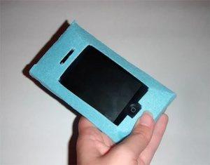 Чехол для айфона из бумаги