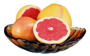 Помело - фрукт низкокалорийный, всего 38 ккал на 100 грамм