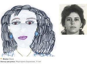 Как научить ребенка нарисовать портрет