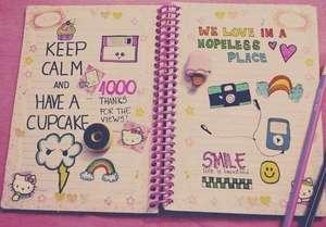 Личный дневник девочки