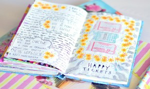 Страничка из личного дневника девочки