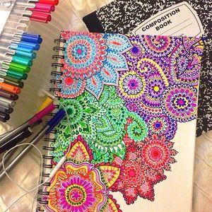 Пример оформления обложки личного дневника девочки