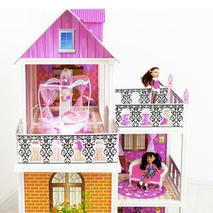 Создание небольшого домика для кукол