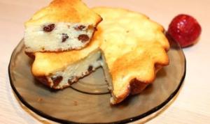 Запеканка с изюмом полезнее пирогов и н еменее вкусна