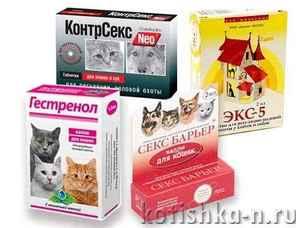 Гормональные препараты для кота от криков