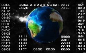 Увидел одинаковое время (цифры все одинаковые) - как трактовать