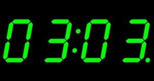 Время 03:03 - что значит увидеть на часах