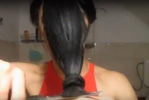 Как подстричь секущиеся кончики волос