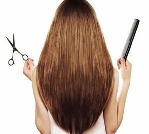 Как подровнять волосы в домашних условиях
