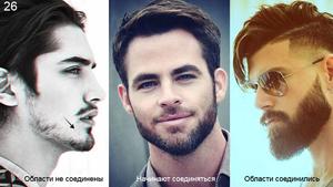 Уход за выбритой бородой