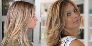 Мелирование светляй волос
