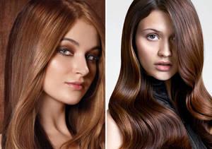 Какой краской для волос добиться оттенка молочного шоколада
