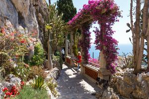 Экзотический сад в Монако