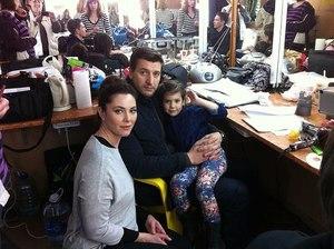 Янина Соколовская и ее семья