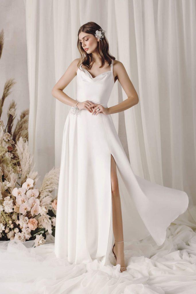 Новый тренд свадебной моды – платья в бельевом стиле